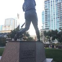 Photo taken at Tony Gwynn Statue by Mac H. on 3/10/2017
