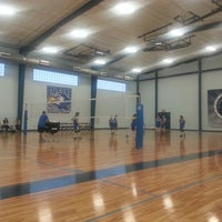 Photo taken at Saint Mary's School Gym by Rich E. on 10/29/2012