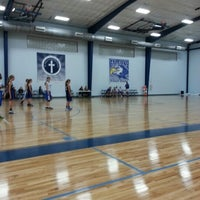 Photo taken at Saint Mary's School Gym by Rich E. on 1/29/2013