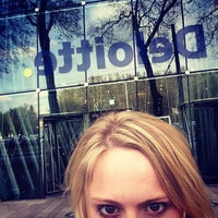 Photo taken at Deloitte Hungary by Jess N. on 4/18/2014