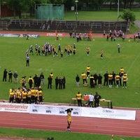 Photo taken at Dantestadion by MyAnh N. on 5/11/2013