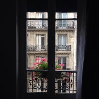 Photo taken at Hotel Avia Saphir Montparnasse Paris by Andres G. on 9/13/2015