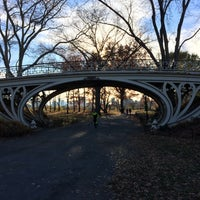 Photo taken at Central Park - Gothic Bridge by mdawaffe on 11/29/2015