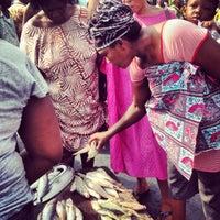Photo taken at Sekondi Fish Market by Ralph M. on 1/19/2013