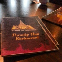 Photo taken at Pormtip Thai Restaurant by Amin N. on 8/20/2013