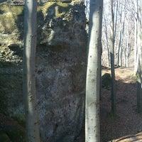 Photo taken at Zsivány szikla by Attila T. on 3/9/2014