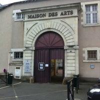 Photo taken at Maison des Arts by LOKKILUCK L. on 12/1/2012