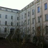 Photo taken at Maison des Arts by LOKKILUCK L. on 2/2/2013