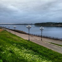 Снимок сделан в Волжская набережная пользователем Sergey B. 6/22/2013