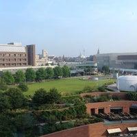 Photo taken at Liverpool Hilton Executive Lounge by Jeremy S. on 9/5/2014
