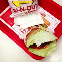 Photo taken at In-N-Out Burger by esther j. on 6/24/2013