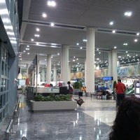 Photo taken at Macau International Airport (MFM) by Ee M. on 6/6/2013