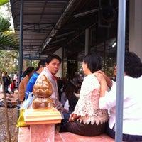 Photo taken at วัดป่าสันติธรรม by Jutatip J. on 2/14/2014