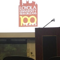 Photo taken at Danna Center - Loyola University by Erica S. on 4/19/2013