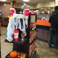 Photo taken at Dunkin Donuts by Claire F. on 10/30/2016