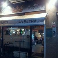 Photo taken at La Reyna by Carlos E. on 10/18/2012