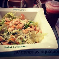Photo taken at Salad Creations by Anna Luiza A. on 2/15/2013