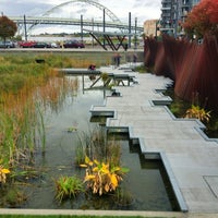 Photo taken at Tanner Springs Park by Luis R. on 10/14/2012
