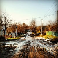 Photo taken at Станція «Моринці» by Yuriy C. on 2/23/2013