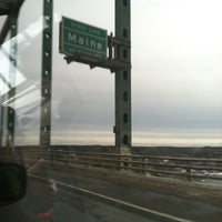 Photo taken at Maine State Line by Bobbi D. on 12/30/2012