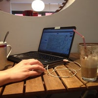 Photo taken at Batty Baristas Coffee Shop by Nora D. on 9/14/2013