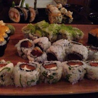 Photo taken at The Cultured Pearl Restaurant & Sushi Bar by Sam N. on 4/22/2014