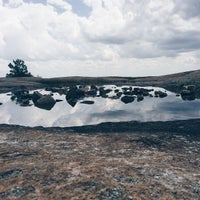 Photo taken at Arabia Mountain by Nagzah A. on 9/1/2014