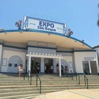 Photo taken at Expo São Roque by Rafaella B. on 10/27/2012