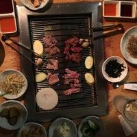 Photo taken at Wharo Korean BBQ by Rolando on 9/8/2017