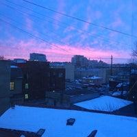 Photo taken at БЦ «Красная Заря» by Anya ⭐. on 1/16/2015