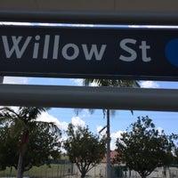 Photo taken at Willow Metro Station by LeeAnn K. on 6/24/2017