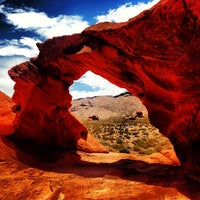 Photo taken at Valley of Fire State Park by Nick M. on 7/14/2013