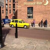 Photo taken at Premier Inn Liverpool Albert Dock by Andrew R. on 4/4/2013