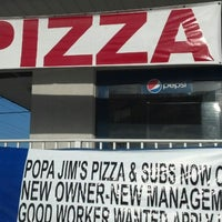 Photo taken at Popa Jim's Pizza by Randall B. on 3/24/2013