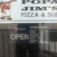 Photo taken at Popa Jim's Pizza by Randall B. on 4/28/2013
