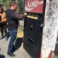 Photo taken at Mystery Soda Machine by Andrew C. on 7/8/2017