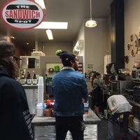 Photo taken at The Sandwich Spot by Andrew C. on 3/3/2017