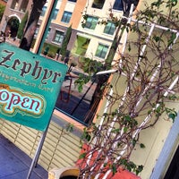 Photo taken at Zephyr Vegetarian Cafe by Erika C. on 10/16/2013