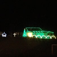 Photo taken at Christmas house behind Rustburg Elementary School by April M. on 12/21/2012