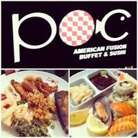 รูปภาพถ่ายที่ POC American Fusion Buffet & Sushi โดย iamALLENation เมื่อ 6/26/2013