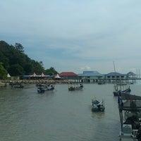 Photo taken at Teluk Tempoyak by Zamsari M. on 11/23/2014