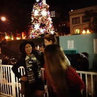 Photo taken at Fantasy on Ice at Horton Square by Andrea N. on 12/22/2013