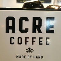 Photo taken at Acre Coffee by annie l. on 1/13/2013