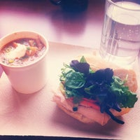 Photo taken at The Portland Soup Company by Michelle H. on 9/21/2012