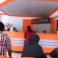 Photo taken at Kantor Pos Pettarani by Milka A. on 4/5/2013