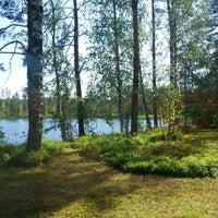 Photo taken at Pirhola by Leena M. on 7/13/2014