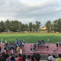 Photo taken at Kompleks Sukan MPSJ by Tan H. on 11/10/2017