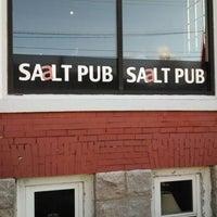 Photo taken at SAALT Pub by Mike C. on 5/1/2014