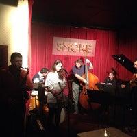 Photo taken at Smoke Jazz & Supper Club by Edward T. on 10/2/2012