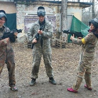 Photo taken at Pannon Paintball by Natasa F. on 3/14/2015